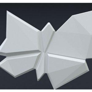Гипсовые 3D элементы «Бабочка»